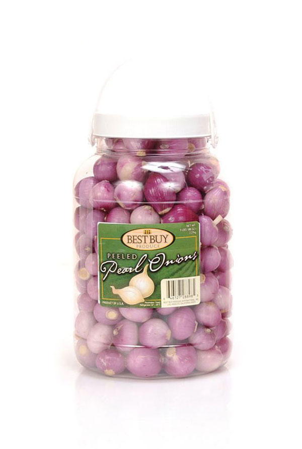 Peeled Red Pearl Onions